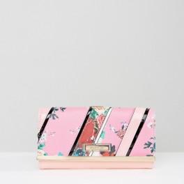 Růžová peněženka (náhled)