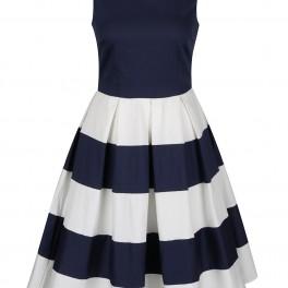 Pruhované šaty (náhled)