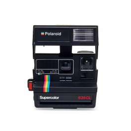 Polaroid 635 CloseUp SuperColor