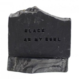 MÝDLO BLACK AS MY SOUL, ALMARA SOAP